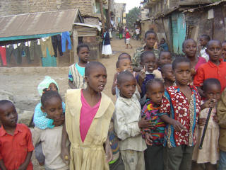 Children in Baba Dogo