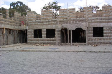 New AIDS/TB Clinic under construction